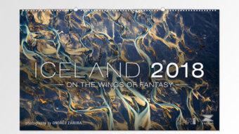 Firemní kalendář ICELAND 2018