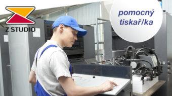 Pomocný tiskař/ka