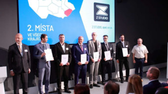 Z STUDIO receives the CZECH LEADERS AWARD
