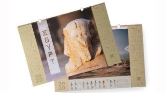 Firemní kalendář EGYPT 2020
