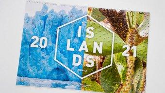 Firemní kalendář World of islands animals 2021